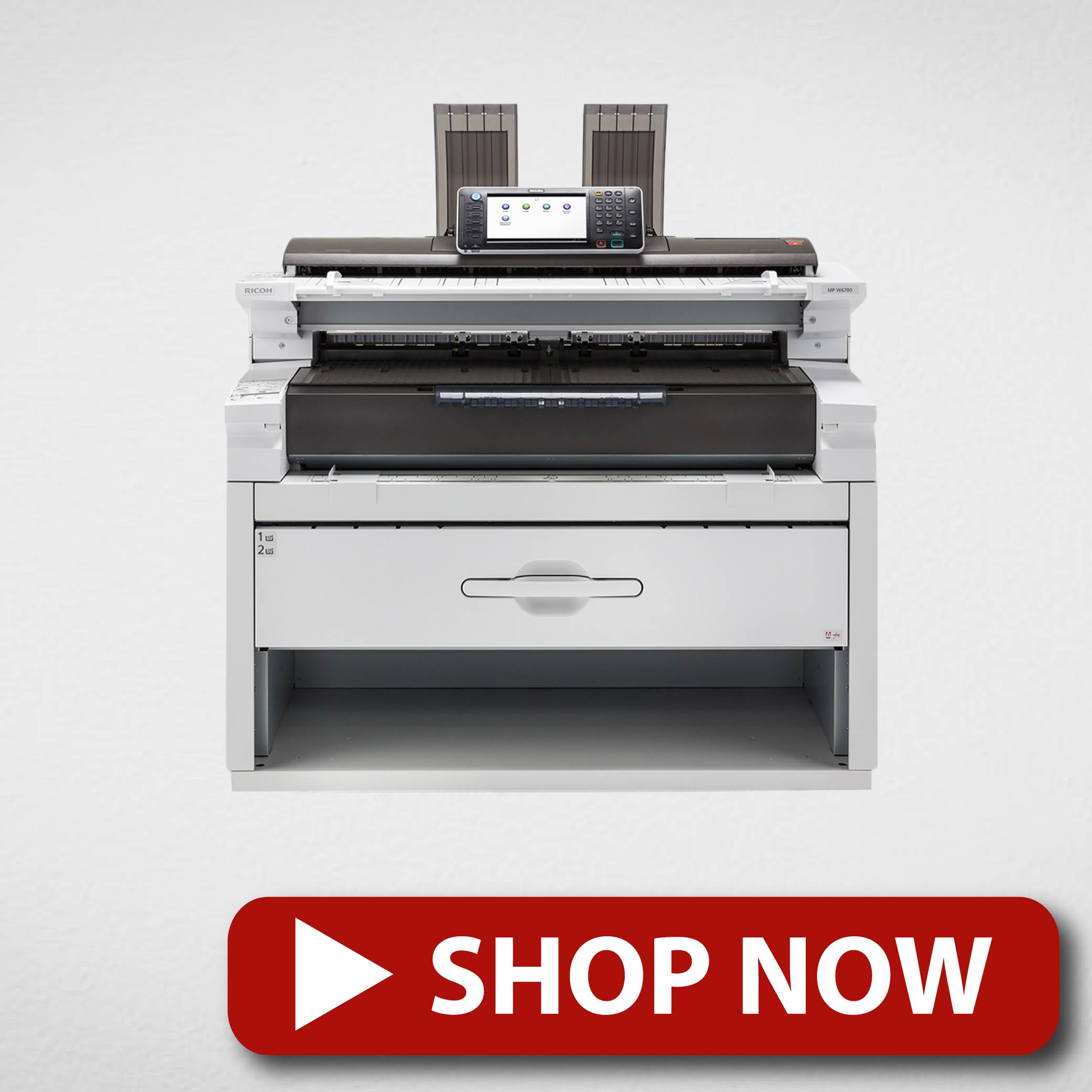 Ricoh Black and White Multifunction Wide Format Printer